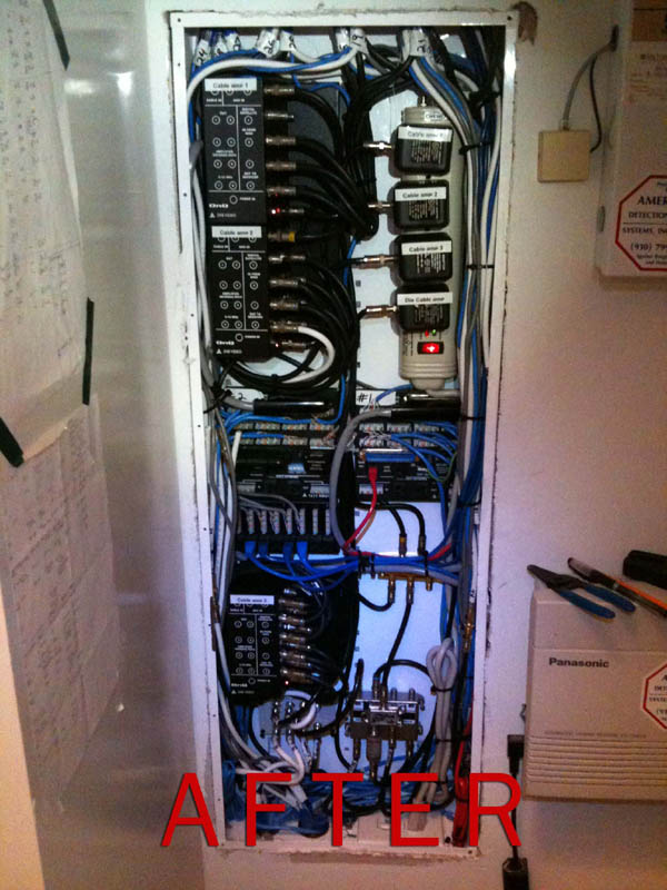 Smart Wiring After Picture